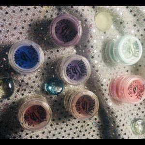 Medusa's Makeup: Matte pigments, Glitter & eyedust